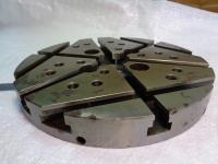 Плита круглая с Т-образными пазами УСП 240х30