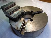 Патрон токарный 250 мм с обратными  кулачками в отличном состоянии, не использовался