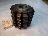 Фреза червячная модульная цельная для нарезанья зубьев звездочек к приводным, роликовым и втулочным цепям. Размер цепи 15,875мм, ГОСТ 15127-83