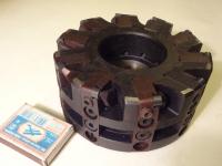 Фреза торцовая 125х40 z=10 с регулируемыми кассетами, оснащёнными сменными пластинами из композита 05