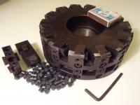 Фреза торцовая 160х50 z=14 с регулируемыми кассетами, оснащенными сменными пластинами из композита 05 (комплект)