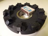 Фреза торцовая 160х50, оснащенная пластинами из минералокерамики