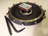 Фреза торцовая 160х40 z=12 двухступенчатая со вставными ножами, оснащенная композитом регулируемая