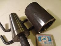 Калибр кольцо + калибр пробка конуса  9 градусов 31мин. 38 сек.,                                                                                                                                                 диаметр 50 мм к станку 2В440А