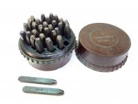 Клейма ручные буквенные №4 сталь (б.у.)